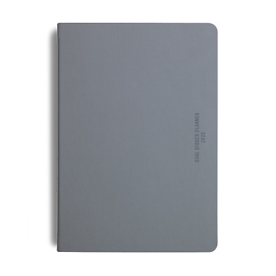 MiGoals 2020 Classic Goal Digger Diary Weekly Action B5 Soft Cover Grey