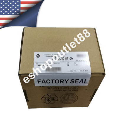 2018 NEW *SEALED* Allen Bradley 1769-L16ER-BB1B CompactLogix 384KB Processor USA