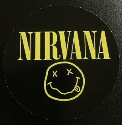 Nirvana In Utero Album Cover Logo Sticker Decal Square Deal Recordings /& Supplies
