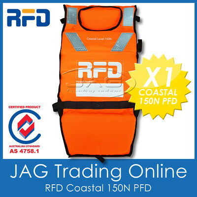 RFD SIROCCO FEM ADULT M-L 70KG PFD LIFE JACKET 100N Level 100 Lifejacket//Vest