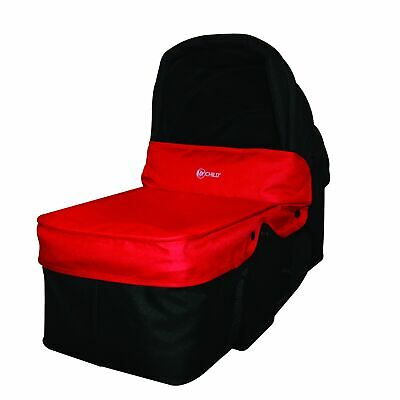 MyChild Easy Twin Second Carrycot in Red