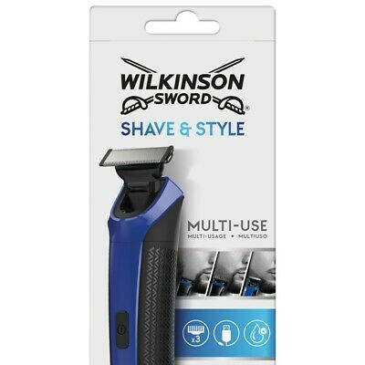 Wilkinson Sword Shave & Style Men's Electric Shaver Trimmer RRP £40.00