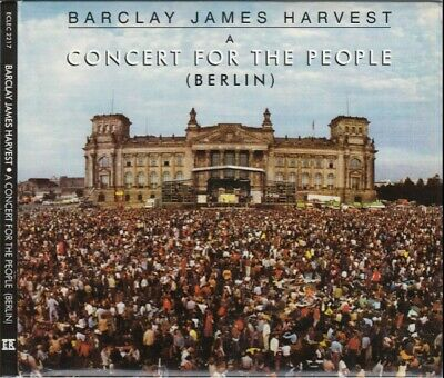 Barclay James Harvest - A Concert For The People - Cd Digipack New 2010 -30Th Ed