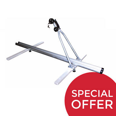 New Erde Trailer Aluminium Cycle Bike Bicycle Carrier Fits On ABS Load Bars