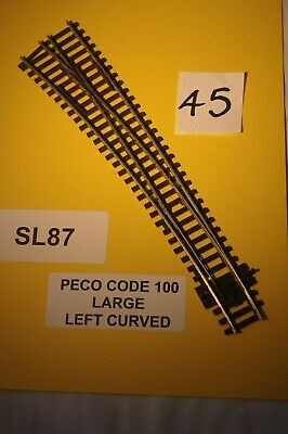 1524 /& 762mm PECO SL-E187 Code 75 Curved Double Radius L//H Point /'00/' T48 Post