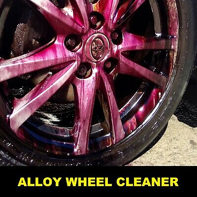 Heavy Duty Wheel Cleaner Acid Strong Professional Use Alloy Wheel Cleaner 5L