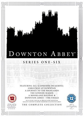 Downton Abbey Complete Collection 2016 Dvd Nuovo