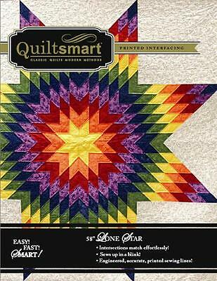 """Quiltsmart Classic Pack Lone Star 58"""" Fusible Interfacing Pattern Kit"""