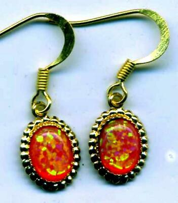 Select from 8 beautiful color solid Gilson designer GEM OPAL EARRINGS   SALE