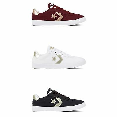 Converse All Star Point Star Ox Shoes Womens Athleisure Trainers Sneakers