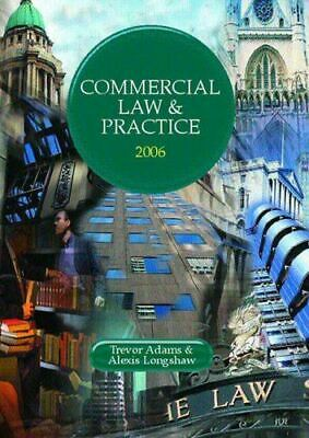 Commercial Law and Practice 2005/2006 (Lpc), Adams, Trevor, Very Good, Paperback