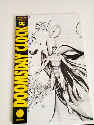 DOOMSDAY CLOCK #1-12 VARIANTS PLUS 11:57 Variant 1ST PRINT.WATCHMEN UNREAD