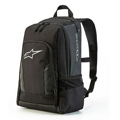 Alpinestars Time Zone Motorcycle Luggage Black 20 Litre Back Pack