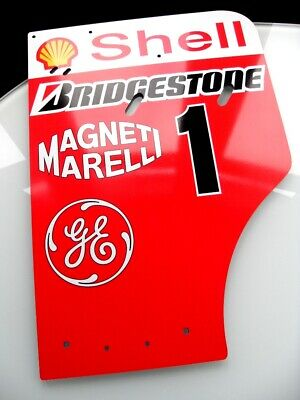 Michael Schumacher World Champion Full Size Ferrari F1 2001 Replica Endplate