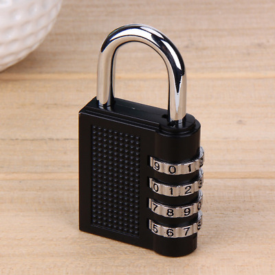 4 Digit Anti-theft Combination Password Lock Suitcase Coded Padlock Travel