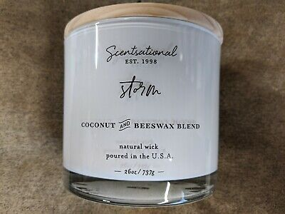 Scentsational BALI BREEZE  Natural Soy Scented Candle 26 oz.