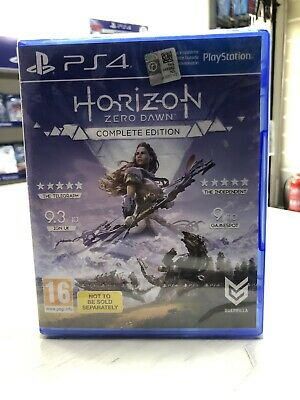 Horizon Zero Dawn Complete Edition PS4 Game Brand New Sealed