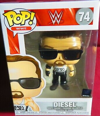 """DIESEL, FROM the """"WWE"""", BRAND NEW,  FUNKO POP, #74   IN HAND"""