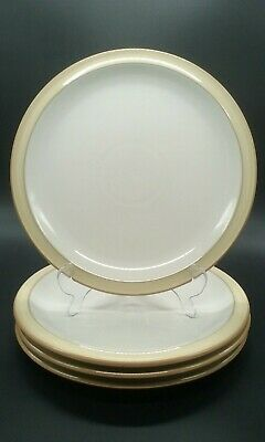 X4 Denby Viceroy Dinner Plates 10.5 INCH Tableware