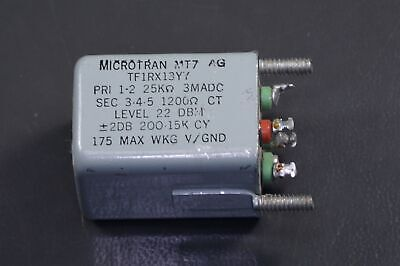 MT7-AG Microtran Audio Frequency Transformer 200Hz - 15KHz Through Hole **USED**