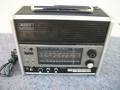 Vintage Sony Crf-160 13 Band Radio Receiver