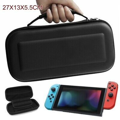 For Nintendo Switch Carrying Case Travel Bag Portable Pouch Hard Cover Shell 3C