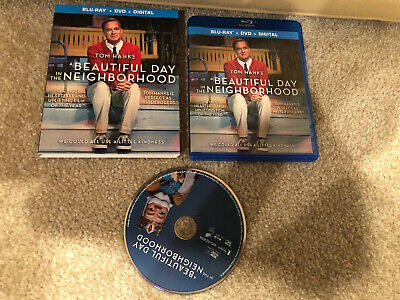 A Beautiful Day In The Neighborhood( Blu-ray + Case w/ Artwork + Slip cover )