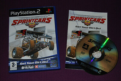 WORLD OF OUTLAWS : SPRINT CARS - Ratbag/Ignition - Course Playstation PS2 PAL FR