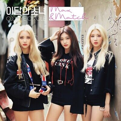 MONTHLY GIRL ODD EYE CIRCLE MAX&MATCH Repackage Album NORMAL CD+Photo Book+Card