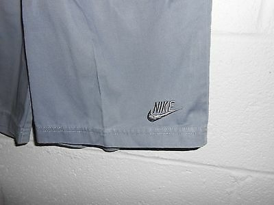 Vintage 80s Golf Tennis Pleated Gray Short Nike Shorts 30""