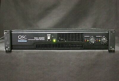 QSC RMX 1850HD Professional Power Amp