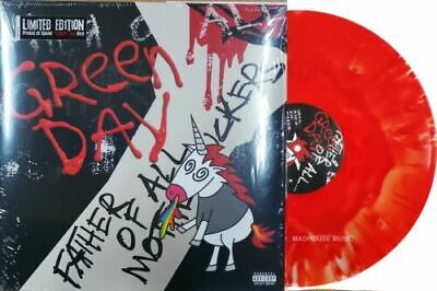 GREEN DAY - Father Of All - Limited Cloudy Red Vinyl LP - (New & Sealed)