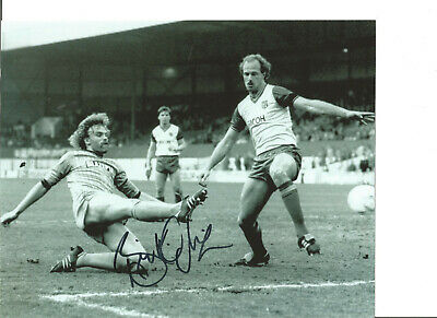 Football Autograph Brian Kilcline Coventry City Signed 10x8 in Photograph JM200