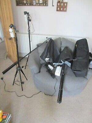 Photo Shoot Lighting Lights Photo Shoot Modelling Lamps Job lot x6