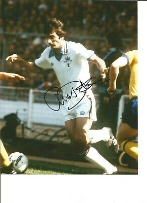 Alan Devonshire Signed Colour FA Cup Football 1980 Photo For West Ham JM85