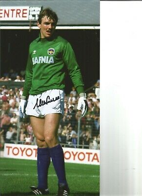 Neville Southall Signed Colour Football Photo Pictured Action For Everton JM84