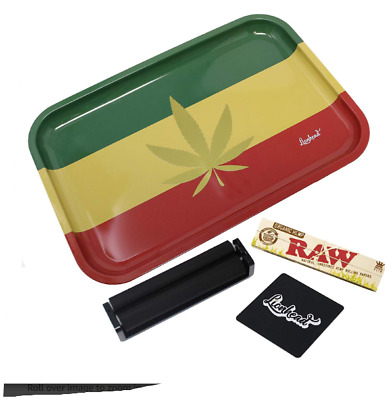 Rolling Tray Weed Tobacco Herb Smoking Accessory Papers Rolling Machine Rasta