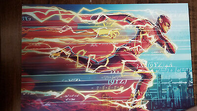 2018 Sdcc Comic Con Exclusive Abrams Dc Wb der Flash Hokus Pokus Promo Plakat