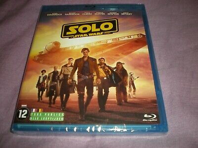 Solo : A Star Wars Story (2018, Blu-ray)