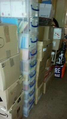 Job lot 15,000 quality birthday/greeting cards individually wrapped