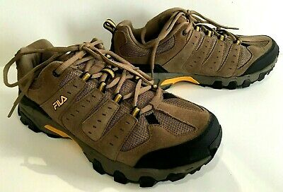 MENS FILA TRAVAIL Trail Running Shoe Sneaker BROWN sz 11 4E