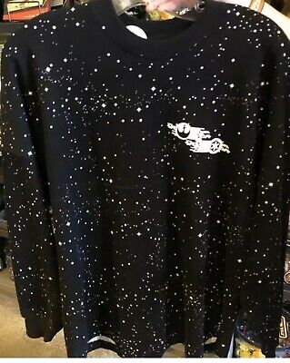 Disney PARKS 2020 Black Star Wars Rebels Spirit Jersey Shirt XL