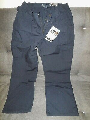NWT 5.11 Tactical Women's Taclite Pants, Style 64358 dark blue 14 regular