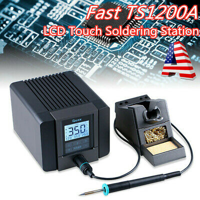 TS1200A LCD Touch Soldering Digital Display Soldering Station 110V Intelligent