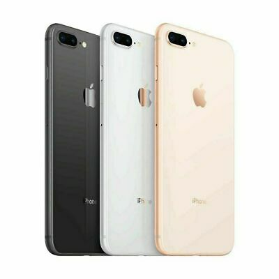 Apple iPhone 8 Plus 64GB SmartPhone for T-mobile (Metro PCS/Lyca/Simple/Ultra)