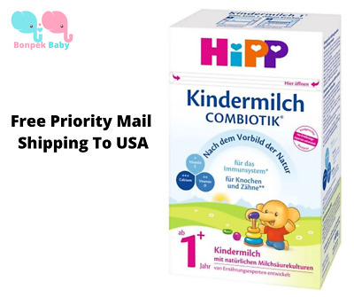 HiPP 1+ Organic Children's Milk Combiotik®  600g Original Germany Free shipping