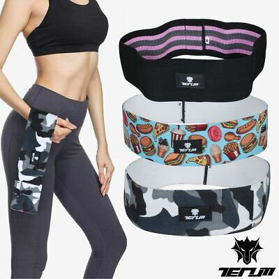 HIP CIRCLE Glute Resistance Bands Leg Squat Exercise Strength Booty Band MEDIUM