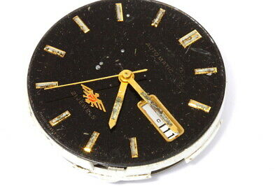 Citizen 8200A 21 jewels Japan automatic movement and dial for repairs      -7042