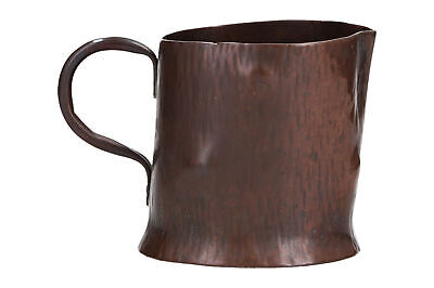 A handmade copper jug in the form of a tree branch Arts & Crafts ?