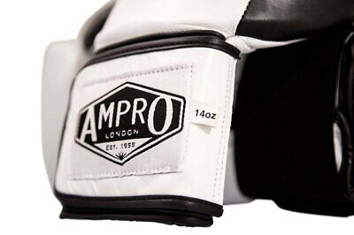 Boxing Ampro Junior Madison MKII Hook and Loop Sparring Gloves Training